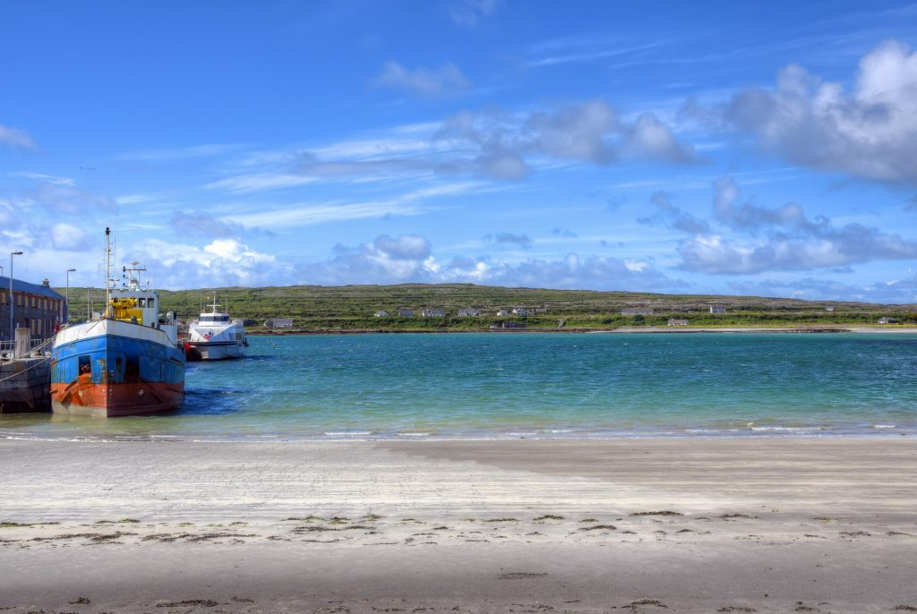 Taking a Ferry to the Aran Islands