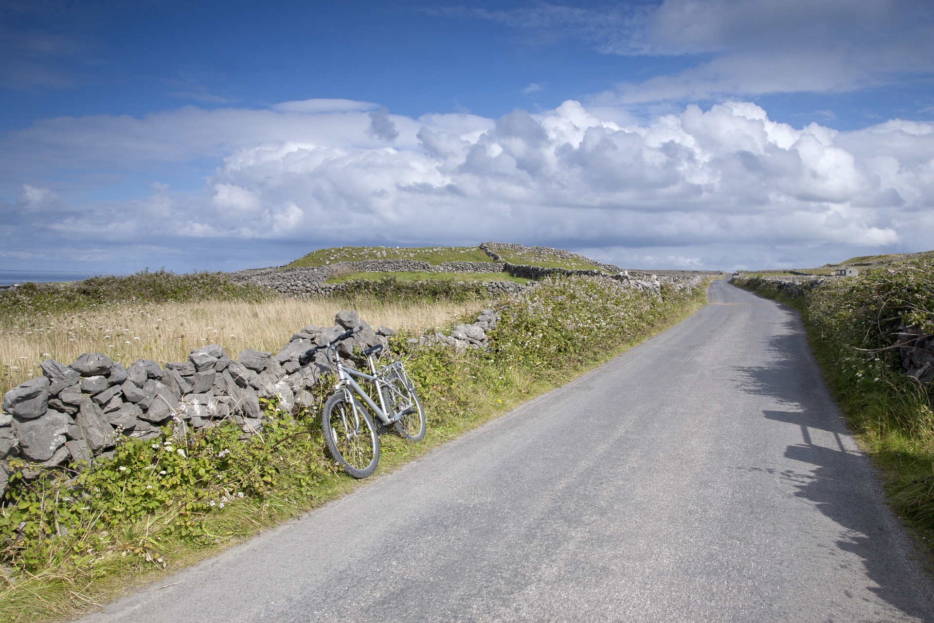 Get around the island by bike or on foot.